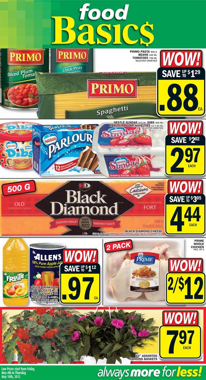 Price Match Food Basics