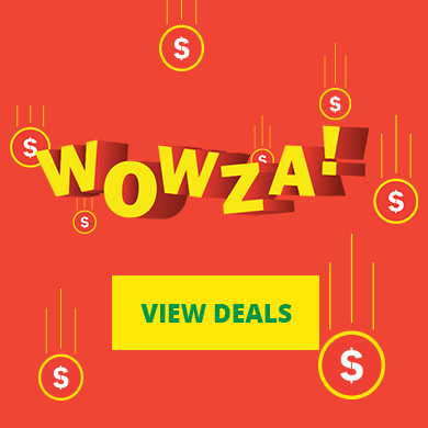 wowza! - View deals