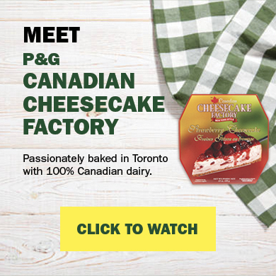 Meet P&G canadian cheesecake factory