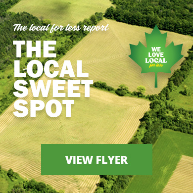 The local sweet spot