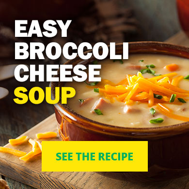 Easy Broccoli Cheese Soup - See the recipe