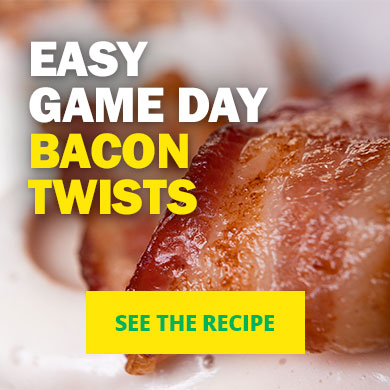 Easy Game Day Bacon Twists - See the recipe