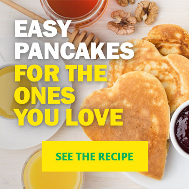 Easy Pancakes For The Ones You Love - See the recipe