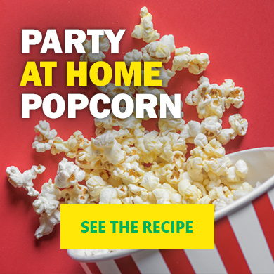 Party at home popcorn - See the recipe