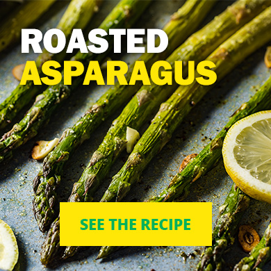 Roasted Asparagus - See the recipe