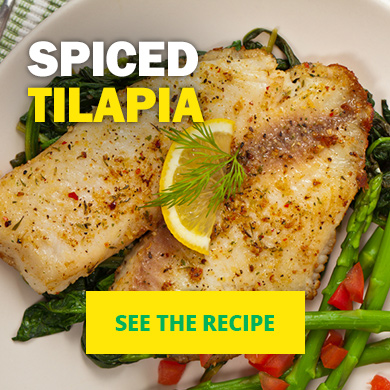 Spiced Tilapia - See the recipe