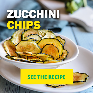Zucchini Chips - See the recipe