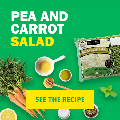 See the Pea and Carrot Salad Recipe