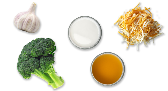 Ingredients Easy Broccoli Cheese Soup