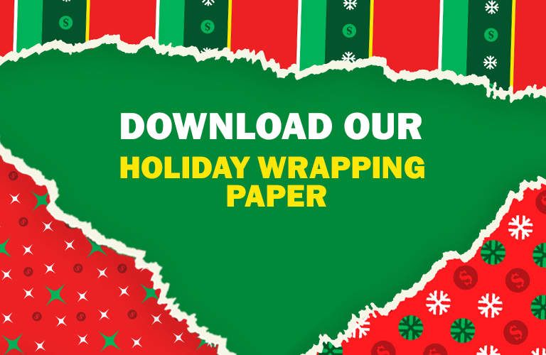 Download Our Holiday Wrapping Paper